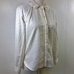 Marc Jacobs Buttoned Down Hearts Print Shirt. 4